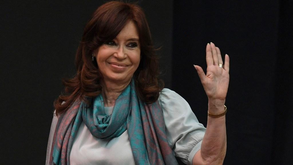 Inicia juicio contra Cristina Fernández de Kirchner - Critina Fernández de Kirchner. Foto de AFP / Eitan Abramovich