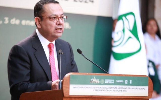 Renuncia Germán Martínez al IMSS; acusa injerencia de Hacienda - Germán Martínez, exdirector del IMSS.