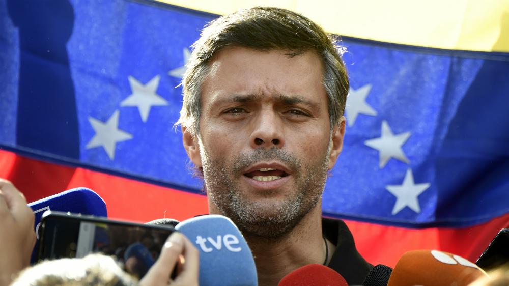 Libran orden de aprehensión contra Leopoldo López - Foto de AFP