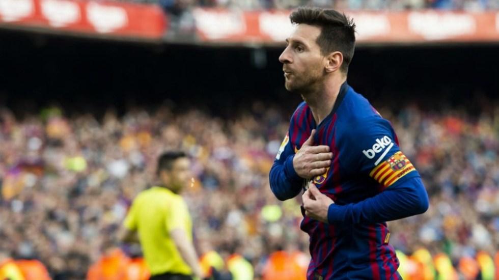 """Messi confiesa que sufrió un """"golpe durísimo"""" en Anfield - Foto de FC Barcelona"""