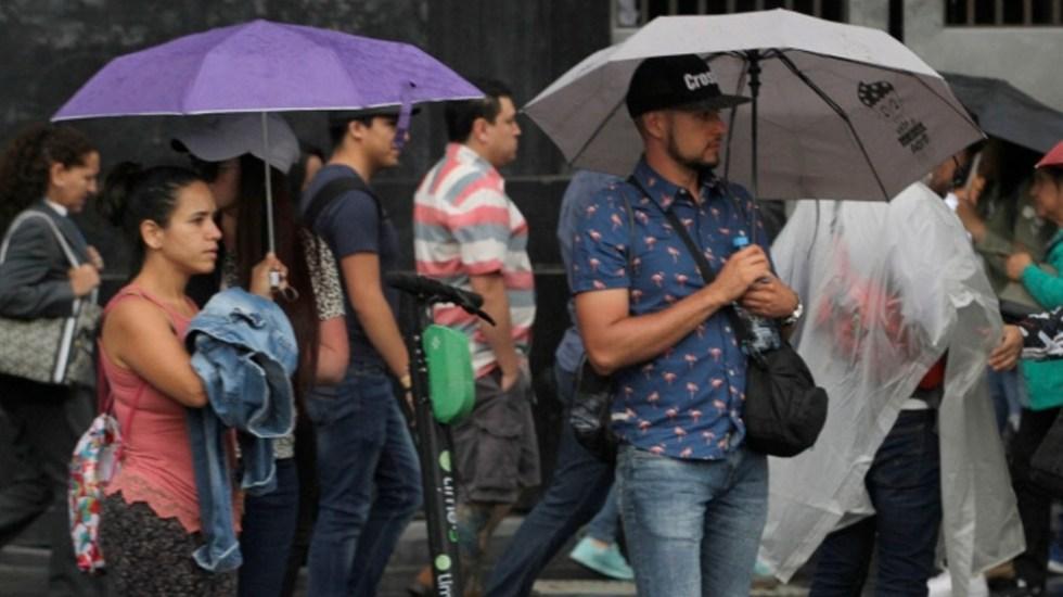 Pronostican lluvias en 19 estados del país - lluvias cdmx