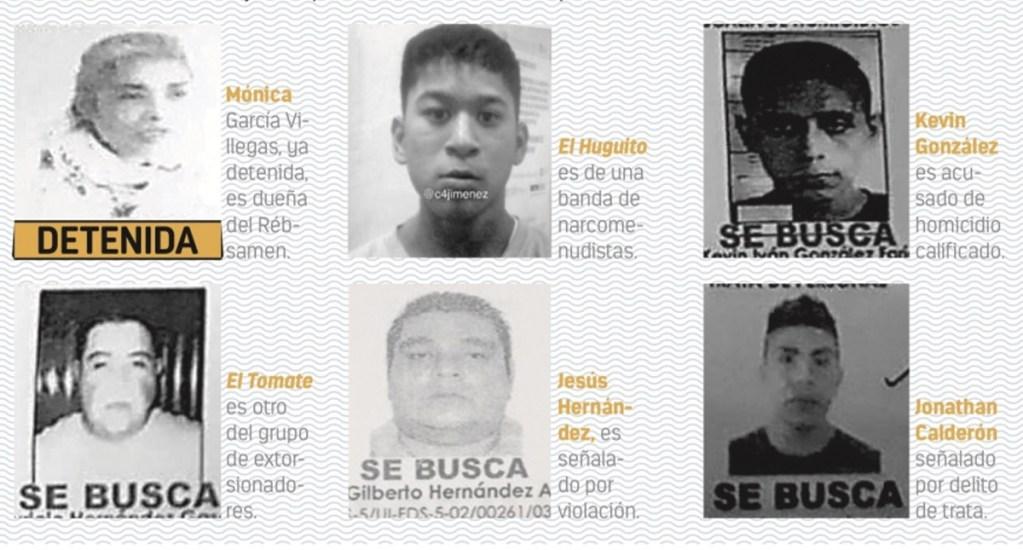 La lista de los 23 más buscados no incluye a 'El Tortas' - Foto de Carlos Jiménez