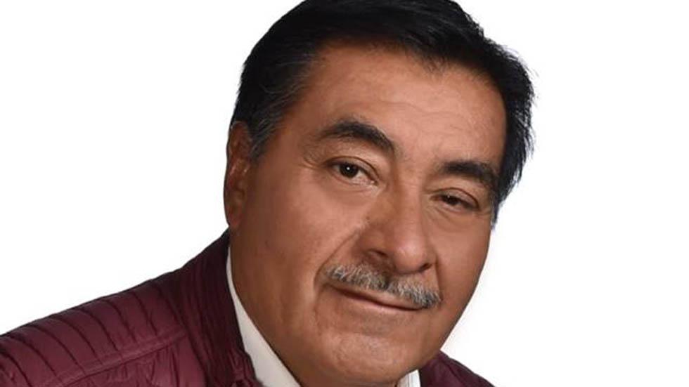 Alcalde de Almoloya de Juárez. Foto del Facebook de Luis Maya Doro