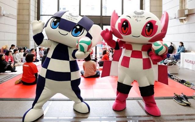 Inicia venta de boletos para los Juegos Olímpicos de Tokio - Miraitowa y Someity, mascotas de los Juegos Olímpicos de Tokio 2020. Foto de Uta Mukuo / @tokyo2020