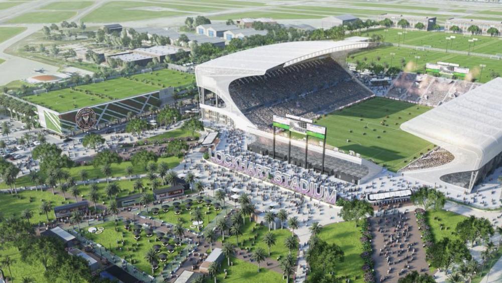 Luz verde al nuevo estadio temporal del equipo de Beckham en la MLS - Foto der Inter Miami