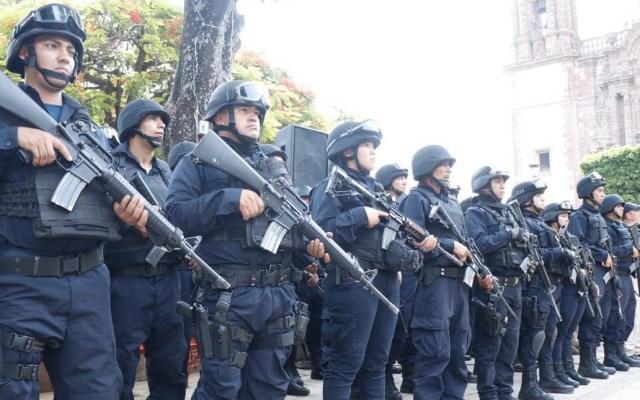 Reforzarán seguridad en Zamora tras enfrentamiento - Foto de @MICHOACANSSP