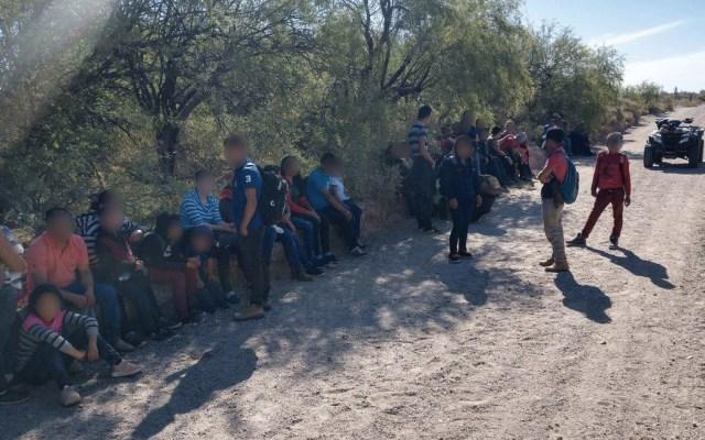 Rescatan a 113 migrantes en Arizona - guardia nacional no desalienta a migrantes centroamericanos