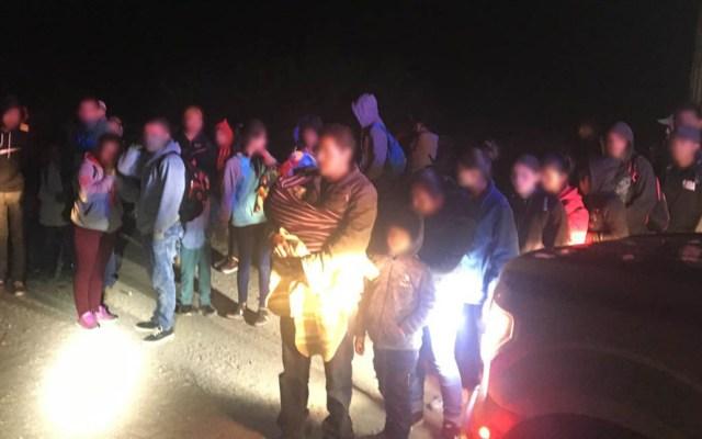Detienen a 231 ilegales centroamericanos en Arizona - Migrantes ilegales detenidos en Arizona. Foto de @CBPArizona