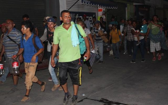Huyen 90 migrantes cubanos de estación migratoria en Tapachula - Migrantes Tapachula Chiapas