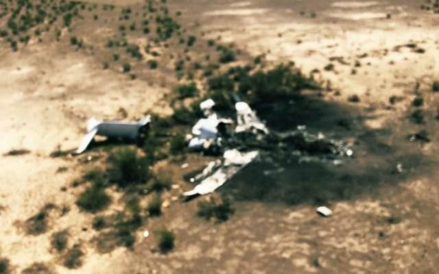 SCT confirma labores de rescate tras accidente aéreo en Coahuila - Foto de @lavozfrontera
