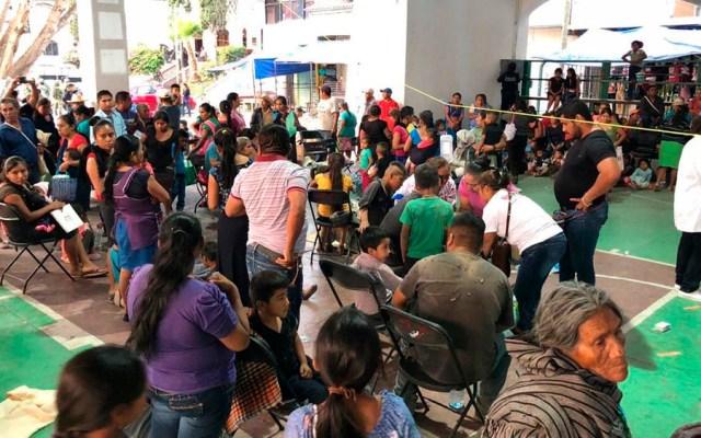 Dan de alta a 115 niños intoxicados por comer pozole en Guerrero - niños intoxicados pozole chilapa
