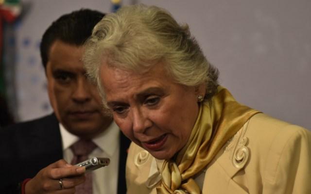 Plan contra trata de personas se trabajará junto a iniciativa Spotlight: Sánchez Cordero - Foto de Notimex
