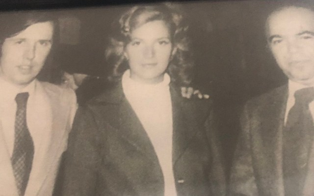 Muere Patricia Berumen, reportera del noticiero de Jacobo Zabludovsky - Joaquín López-Dóriga, Patricia Berumen y Pepe Guindi. Foto de @lopezdoriga