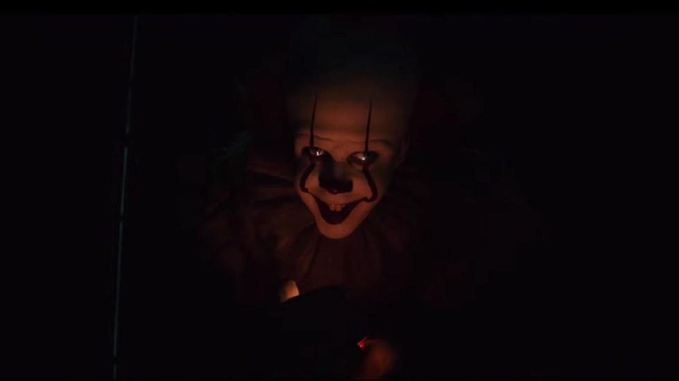 #Video Regresa el temor por Pennywise con tráiler de It Capítulo 2 - Bill Skarsgård regresa en el papel seminal de Pennywise. Captura de pantalla