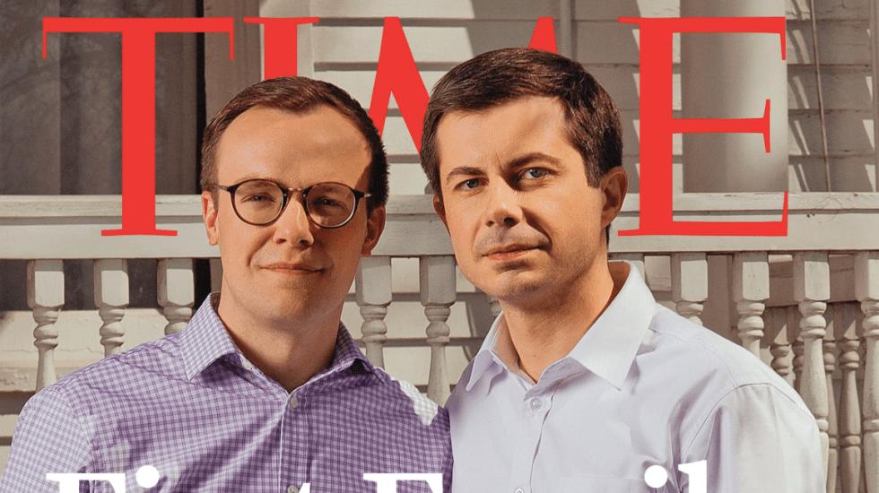 Candidato gay a la presidencia de EE.UU. aparece en portada de Time - revista Time