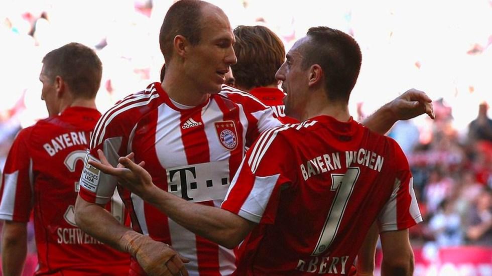 Bayern Múnich oficializa la salida de Ribéry, Robben y Rafinha - Foto de @FCBayernES