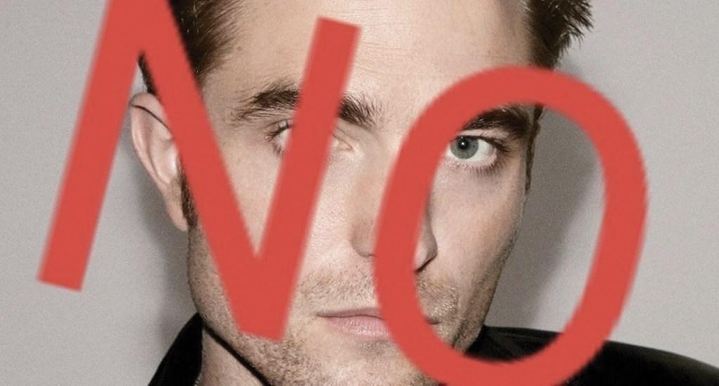 Crean petición para que Robert Pattinson no sea el próximo Batman. Noticias en tiempo real