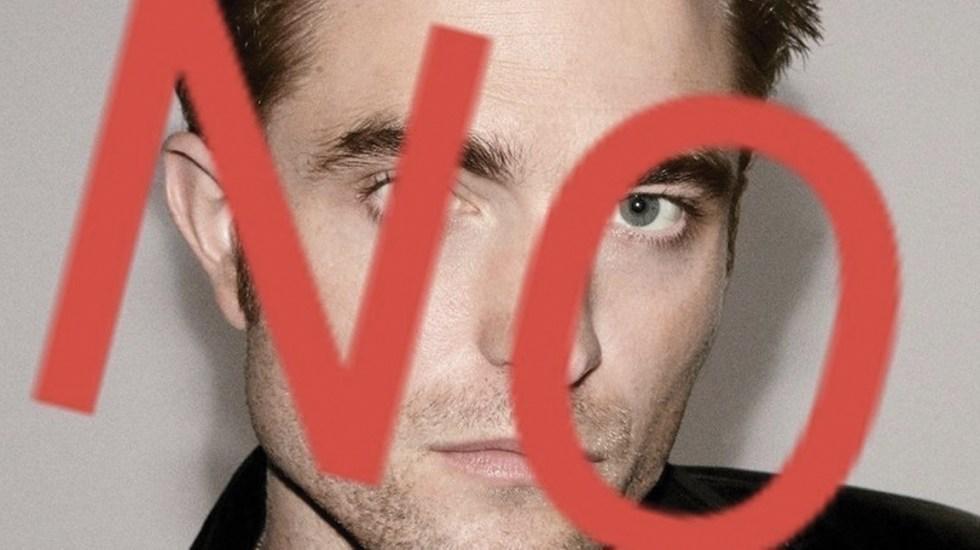 Crean petición para que Robert Pattinson no sea el próximo Batman - Foto de Change.org