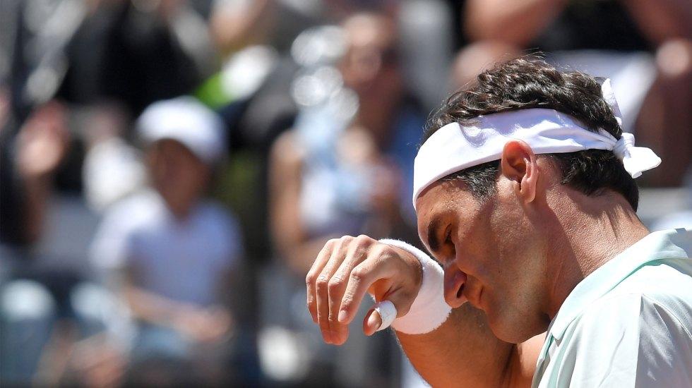 Roger Federer renuncia al Masters 1000 de Roma por lesión - Foto de AFP / ATP