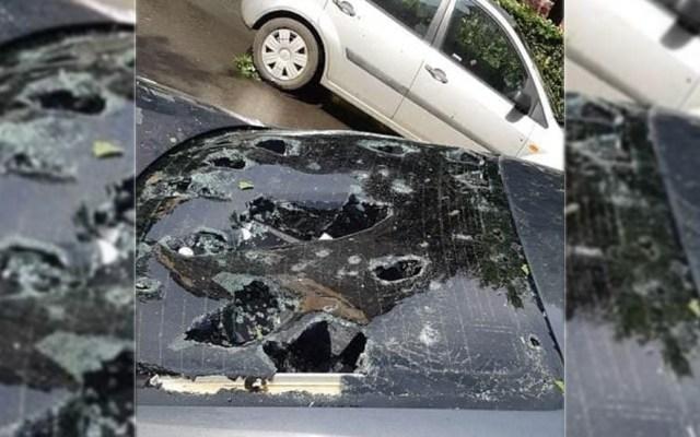 #Video Granizada en Rumania daña varios autos - Granizada Rumania