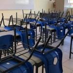SEP reanuda clases este lunes en el Valle de México tras contingencia - Salón de clases. Foto de Quadratín