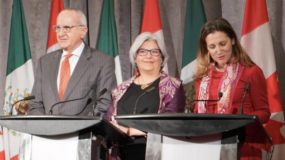 Necesario que EE.UU. elimine aranceles para ratificación de T-MEC: México y Canadá - Foto de @cafreeland