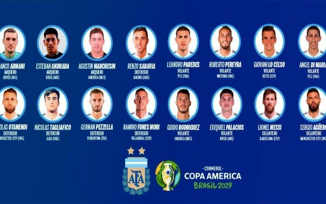 Argentina convoca a dos americanistas para la Copa América - convocados selección de argentina