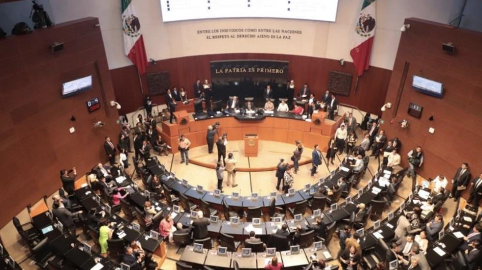 Senado cierra sesión sin acuerdo en leyes secundarias de Guardia Nacional - senado inicia discusión del T-MEC