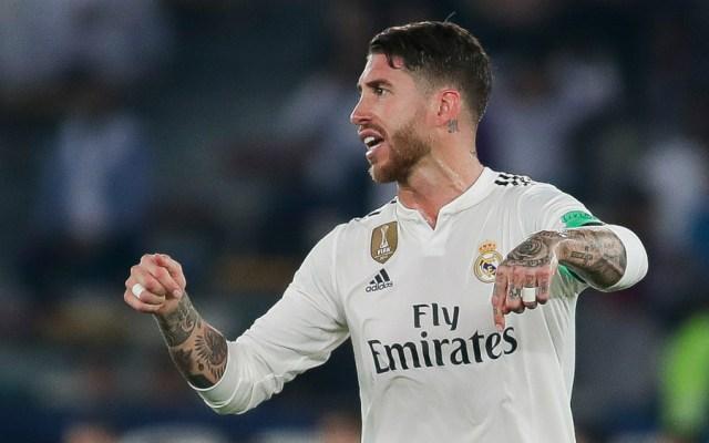 Florentino Pérez dice que Sergio Ramos le comunicó una oferta de China - Foto de Real Madrid