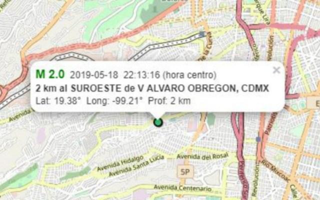 Dos sismos leves afectan Álvaro Obregón - sismos alvaro obregón