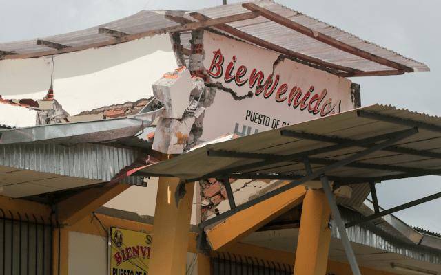 Aumenta a 15 el número de heridos por sismo en Ecuador - Foto de AFP