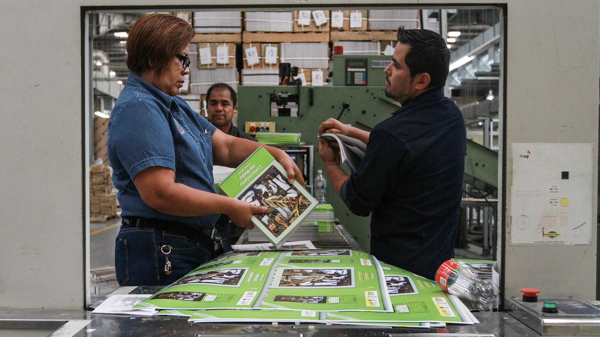 Gobierno federal reconoce retrasos en la impresión de libros de texto gratuitos