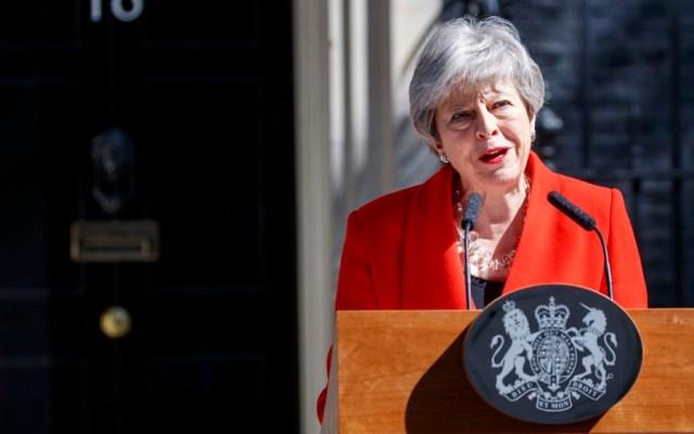May lamenta resultados de su partido en elecciones europeas - theresa may brexit