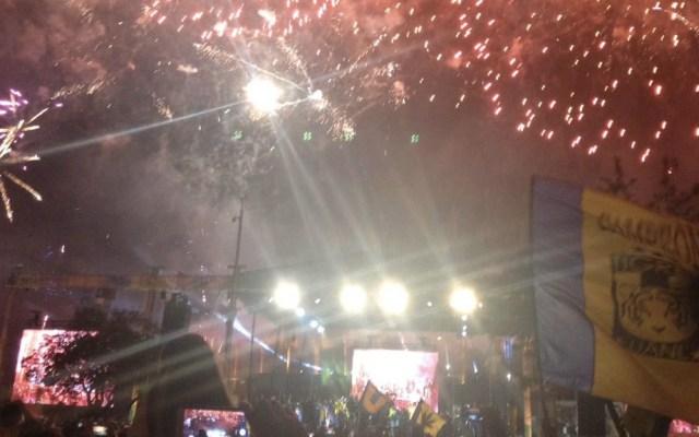 Festejos por título de Tigres dejan dos muertos en Nuevo León - Foto de @Kikenanez