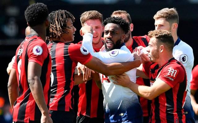 Tottenham cae ante el Bournemouth tras sufrir dos expulsiones - Tottenham Bournemouth