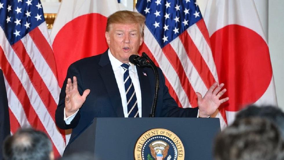 EE.UU. no está listo para un acuerdo comercial con China: Trump - Trump en Japón. Foto de @USAmbJapan