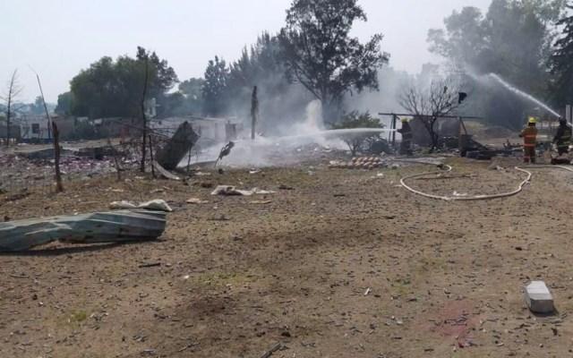 Vuelve a explotar polvorín en Tultepec, hay una persona muerta - explosión