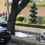 Cinco heridos y una mujer muerta deja accidente de auto de la Embajada de Guatemala