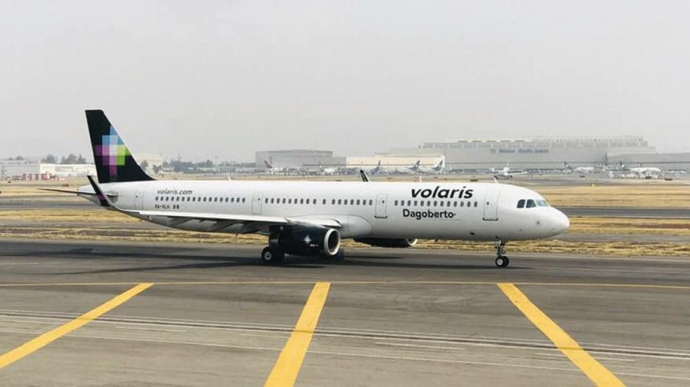 No hay garantía de que Volaris opere en Santa Lucía, aclara director general - Avión Volaris