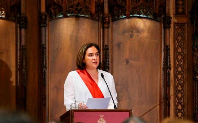 Reelección de Ada Colau bloquea a independentistas de Barcelona - AdaColau barcelona
