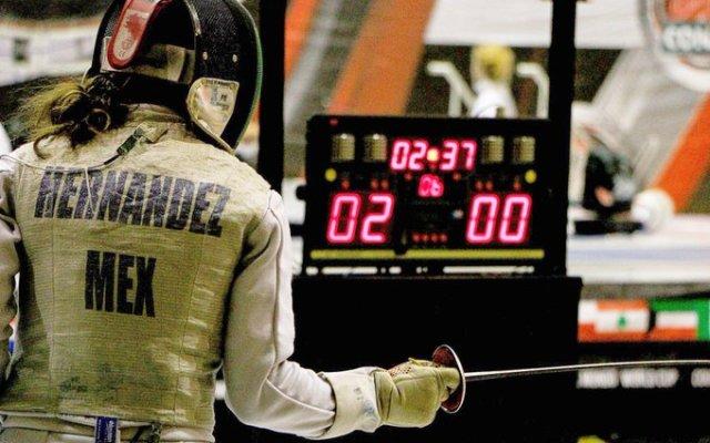 Reducen beca a esgrimista mexicana calificada a Juegos Panamericanos