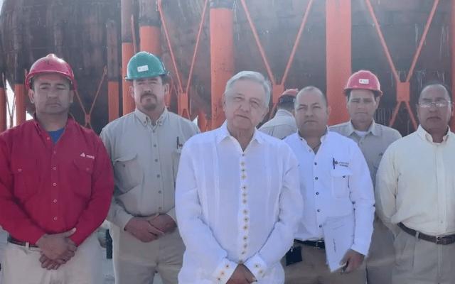 AMLO anuncia rehabilitación de planta de amoniaco en Chihuahua - captura de pantalla
