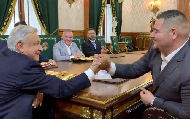#Video Andy Ruiz se reúne con López Obrador en Palacio Nacional - Andy ruiz