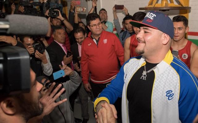 """""""No sabemos qué tanto afectará a Andy Ruiz los meses de celebridad"""": Sulaimán - Andy Ruiz boxeo box"""