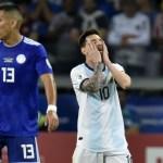 Argentina logra evitar la tragedia ante Paraguay - Foto de AFP