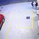 #Video Ladrón asesina por la espalda a empleado de gasolinera