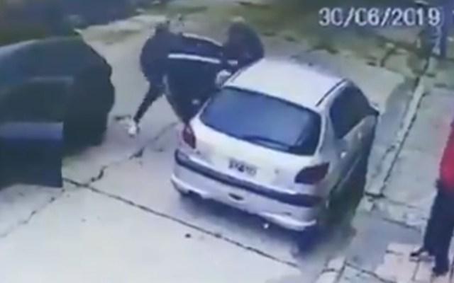 #Video Asesinan a hombre de 80 años durante asalto en Argentina - Asalto Robo Argentina disparos