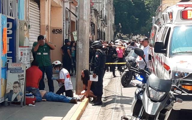 Asesinan a hombre en el Centro Histórico de Oaxaca - asesinado centro histórico oaxaca