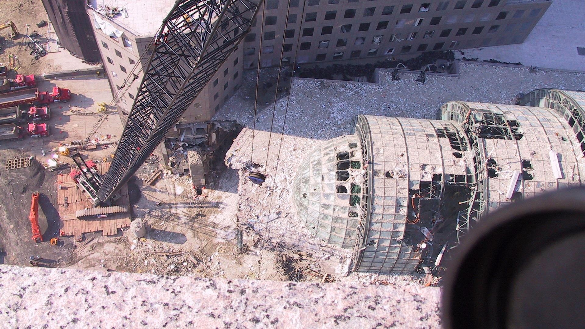 Las fotos nunca vistas del ataque a las Torres Gemelas