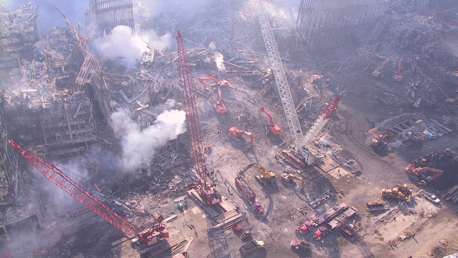 #Fotos Revelan imágenes inéditas del atentado del 11S en EE.UU